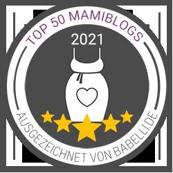 Wir gehörden zu den Top 50 Mami-Blogs auf babelli.de